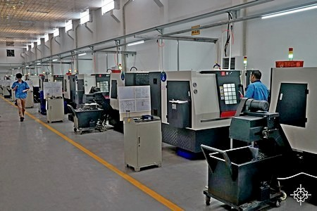 CNC turning services in China