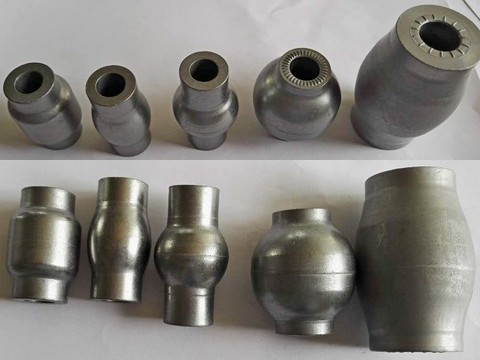 machining parts from cold forging workpiece