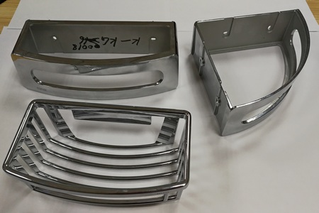 zinc die casting machining parts