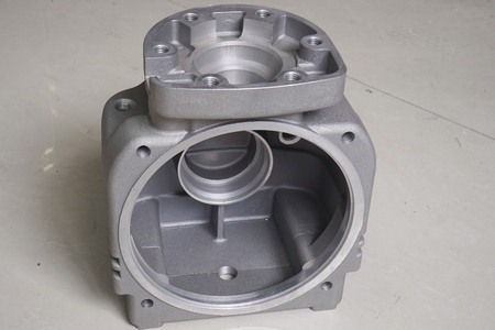 CNC machining part from investment casting workpiece