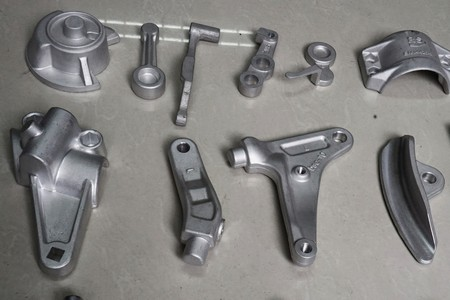 alumininum forging and machining part