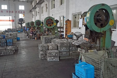 aluminum warm forging press machines
